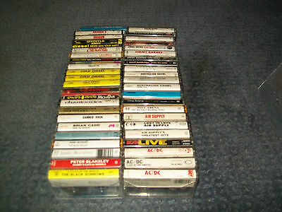 Australian Rock and Pop Collection-114 Cassette Tapes