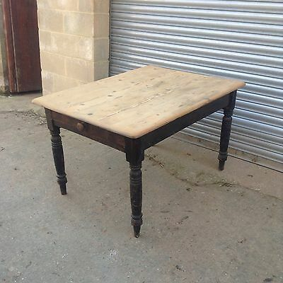 19th Century Pine Kitchen Table