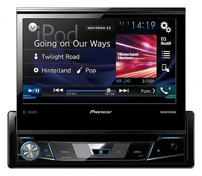 Pioneer AVH-X7800BT CD/DVD/MP3-Autoradio mit Touchscreen Bluetooth USB iPod AUX