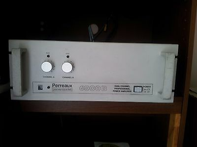 Perreaux 6000B power amplifier; upgraded for home audio