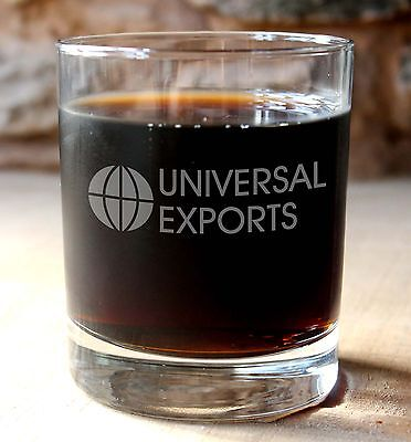 JAMES BOND 007 Universal Exports Whisky Tumbler with optional gift box.