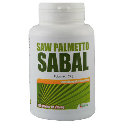Saw Palmetto (Sabal) 200 gélules de 295 mg