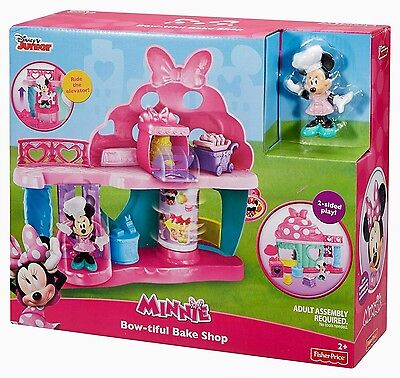Disney Minnie Mouse Bow-Tiful Bake Shop Set Brand New Age 2+ Years Fisher Price