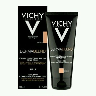 Vichy Dermablend TOTAL BODY CORRECTIVE FOUNDATION16HR 2ml SAMPLE SHADE MEDIUM