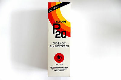 Rieman P20 Once A Day Sun Protection - SPF 30 High - 100ml Spray