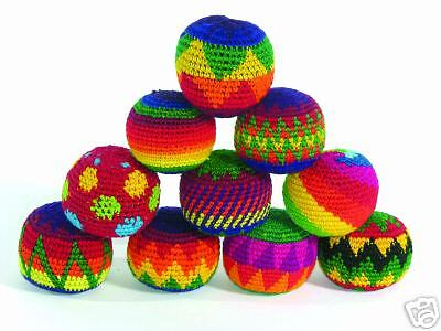 Fair Trade ONE single Hacky Sack Juggling Stress Ball Healing BUY3 GET1 FREE (4)