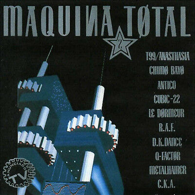 MAQUINA TOTAL 2 (Cd) And One Cubic-22 Antico T99 - Italo Dance Makina. N-Mint.