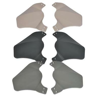 Helmet Side Protector Covers Rail Mounted nHelmet Airsoft Paintball Army Style