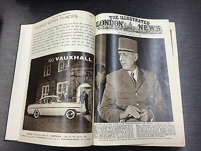 RARE: Illustrated London News (Bound) Volume 234 January-June 1959