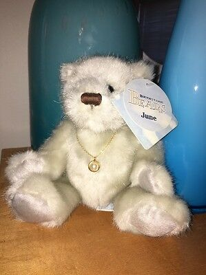 Applause Birthstone Baby Bears June Bette  2001