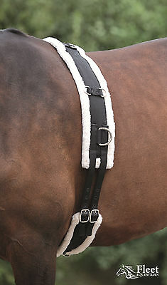 Shires Nylon Roller with Fleece Padding - New Colours