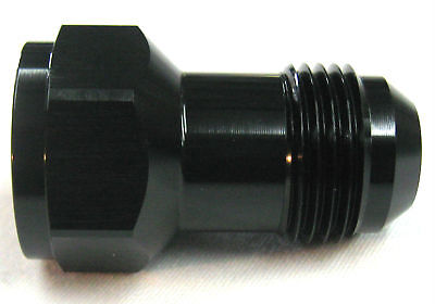 08an female to 08an male flare extension fitting black problem solver