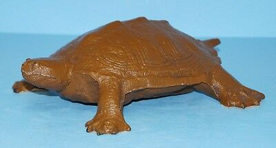 ANTIQUE TURTLE REPTILE CAST IRON DOORSTOP METAL ART CIRCA 1930's