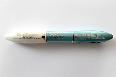 L'Oreal Paris Double Extensions Waterproof Fortifying Extending Mascara Black