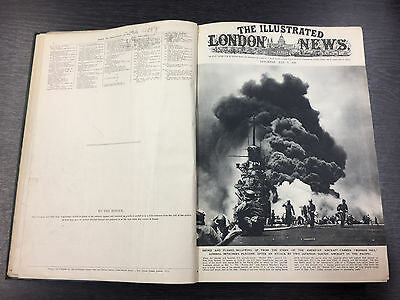 RARE Illustrated London News (Bound) Vol. 207 July-December 1945