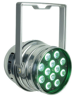 Showtec LED Par 64 Q4-12 Polished / RGBW / DMX / Scheinwerfer / NEU & OVP