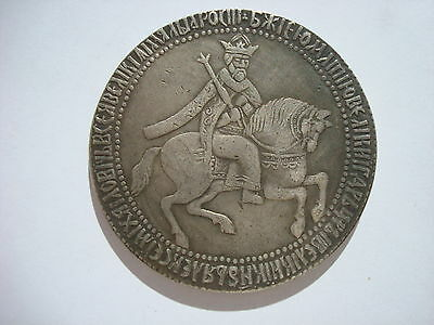 Russian Russland 1 Ruble Rubel 1654 Tsar Alexei Mikhailovich Large 45 mm