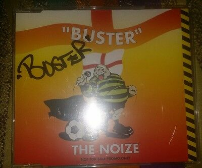 Buster signed promo CD The Noize. Bad Manners