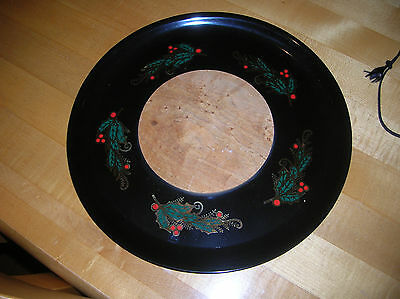 Vintage Couroc Cheeseboard Cheese and Cracker Tray