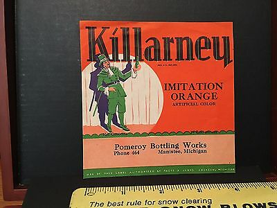 Vintage Beverage Killarney's Orange
