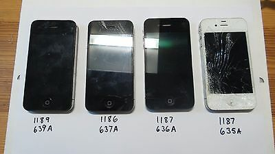 Job Lot 13X Iphones Spare Repairs / Faulty 4G 4S 5G 5S, Uk