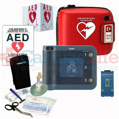 Recertified Philips FRx AED w/ Carry case