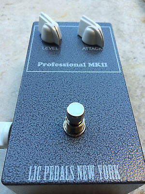 LIC Pedals Professional MKII (Tonebender Reproduction with Mullard OC75's) Grey