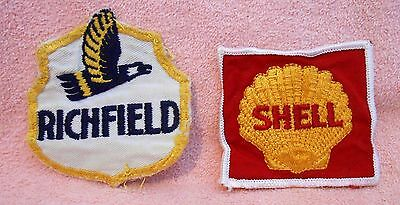 Shell  Richfield  &  Goodyear Patches Acceptable condition. .