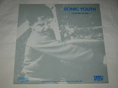 """SONIC YOUTH MUDHONEY Touch me I'm sick / Halloween Germany 12"""" split only cover"""