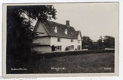 Suffolk, Wingfield, Cottages, Rp