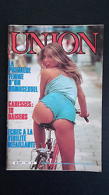 Union La Revue Internationale Des Rapports Humain N107 08/1981 Magazine Erotique