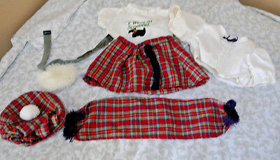 World Traveler Cabbage Patch Kids Scotland Outfit/CLothes