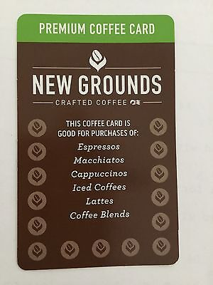 Princess Cruises Premium Coffee Card  Unused Unsigned NEW