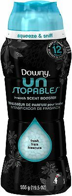 Downy Unstopables Fresh In-Wash Scent Booster Fabric Enhancer, 19.5 Oz
