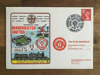 1978-79 DAWN FOOTBALL Cover - Manchester United V Manchester City