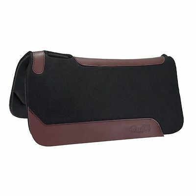 Tough-1 Saddle 1st Choice Pad Contour Western 31 x 32 Black 31-2597
