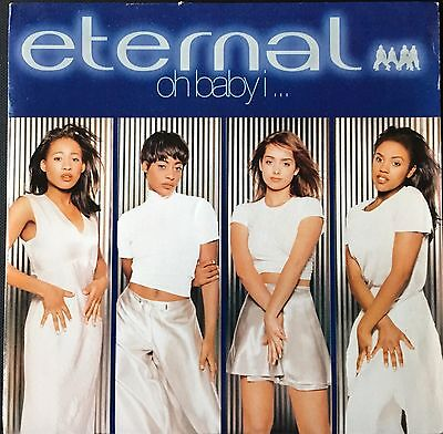 "ETERNAL - OH BABY I...  (1994)  ""3 track 7"" vinyl single"""
