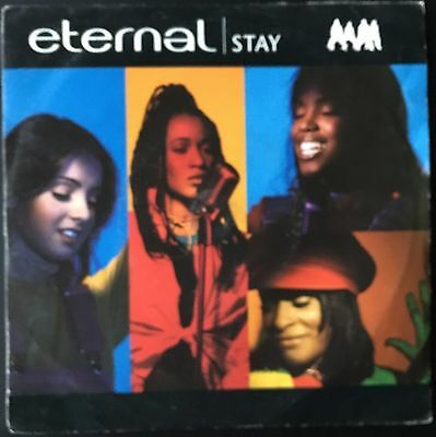 "ETERNAL - STAY  b/w  DON'T SAY GOODBYE  (1993)  7"" vinyl single"