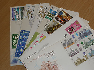 Assorted First Day Covers x 7