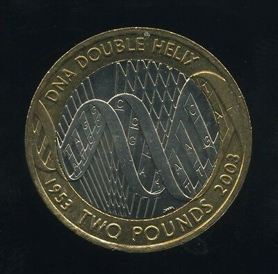 £2 Coin- 2003 50th Anniversary of the Discovery of DNA