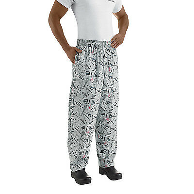 Chefwear 3500-06 Ultimate Chef Pant Utensils all sizes XS-2XL NEW! FREE Shipping