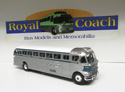 "SALE PRICE Southeastern Greyhound 1948 ACF-Brill IC-41 Diecast 8-1/2"" Bus ACF 01"