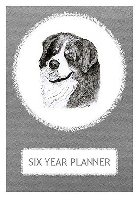 Bernese Mountain Dog Show Six Year Planner/Diary by Curiosity Crafts 2017-2022