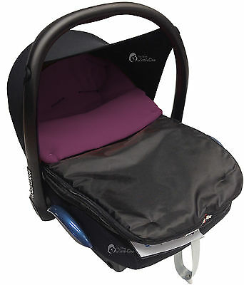 Car Seat  Footmuff / Cosy Toes Compatible with Graco Purple