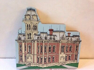 Defiance Ohio County Courthouse Cats Meow Type Wooden Building