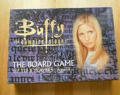 Buffy The Vampire Slayer The Board Game Halloween