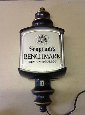 FREE SHIPPING!! SEAGRAM'S BENCHMARK Bourbon Bar LANTERN SCONCE Wall Light