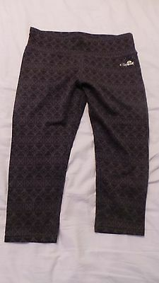 Ellesse Womens Cropped Jogging Pants Size 12-14 (L) BNWT Yoga Running Gym
