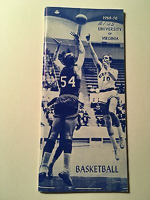 1969-70 University of Virginia Cavaliers Official Basketball Media Guides.