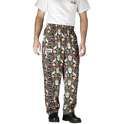 Chefwear 3500-51 Ultimate Chef Pant Carnival all sizes XS-2XL NEW! FREE Shipping